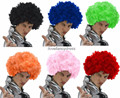 Factory direct sell Custom synthetic afro wig With Free Random for football game