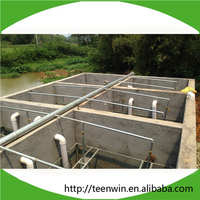Teenwin low cost Sewage Treatment plant build in overground