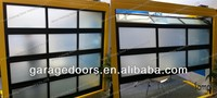 Aluminum Transaprent Doors -- Available with Armored glass, Tempered glass, Ground-glass, PVC plexiglass