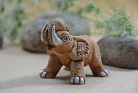 young elephant figurine table decoration