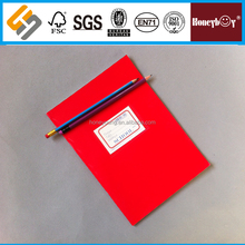High Quality Red Cover White Cardboard Paper Notebook