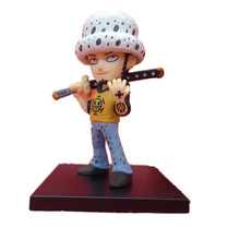 ICTI certificated custom made one piece 3d japanese anime man figure