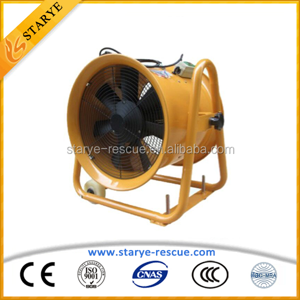 Accident Firefighting Fan For Ventilating or Smoke Exhausting Also Called Ventilation Fan