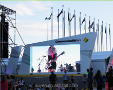 P6 outdoor led large screen display/led display board/background dj stage led screen price