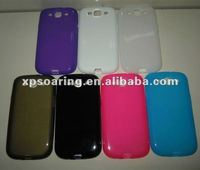 matt transparent front and back cover for Samsung Galaxy S3 i9300