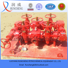 API oilfield well test choke manifold / kill manifold with high pressure