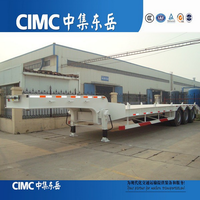 CIMC 3 Axle 60 Ton Dolly Semi-Trailer