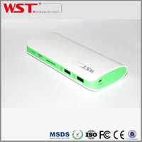 Customized Gift Colourful Emergency 10000mah Universal Portable Charger Mobile Phone Power Bank for iPhone,Samsung,iPad