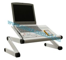 Adjustable 360 degree laptop desk