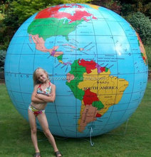 customized giant inflatable earth globe/ inflatable advertising earth globe model/ large inflatable earth globe balloon