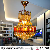 C98158 glass bottle chandelier ,fancy crystal light ,crystal parts for chandeliers trimming