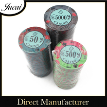 Numbered poker chips wholesale