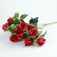 Satin Rose artificial flower