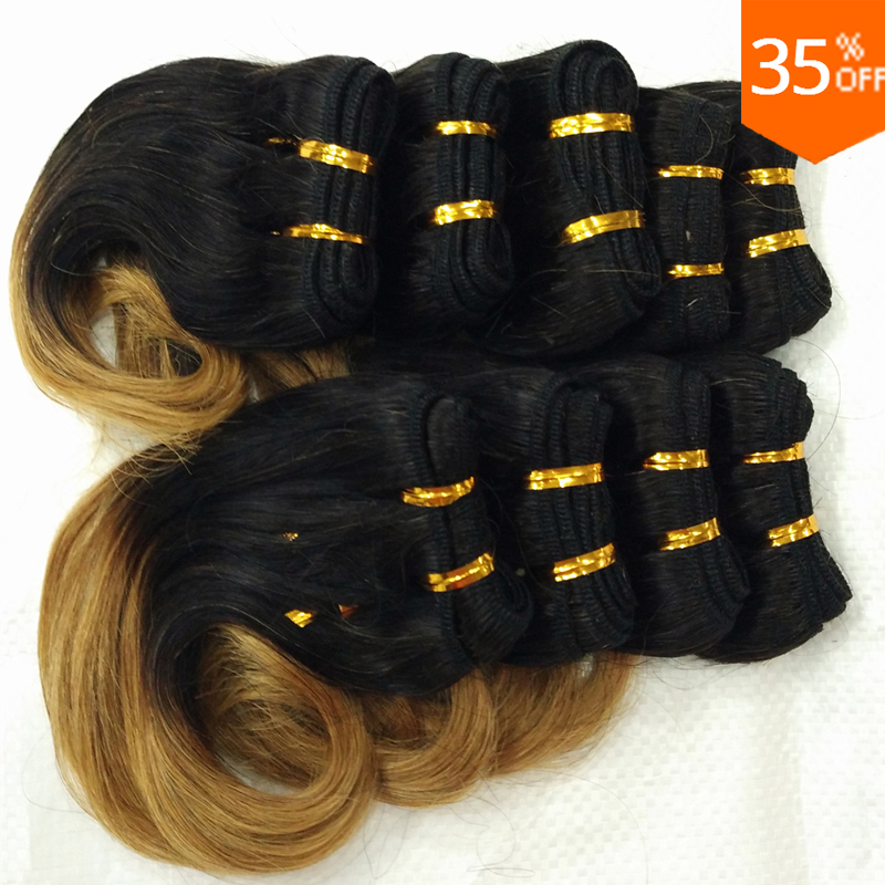 Free shipping 30pcs 8inch Short cute hair wholesale Brazilian bob wavy small remy hair cheap 100% human hair weaves extensions