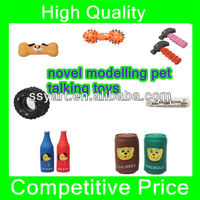 2013 Lovely new design fashionable rubber pet toys/pet talking toys