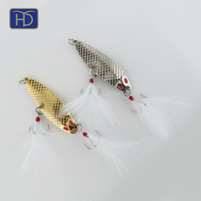 Top quality 10.0g metal spoon fishing lure