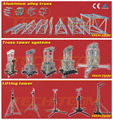 wedding stage lighting truss, professional lighting stage truss