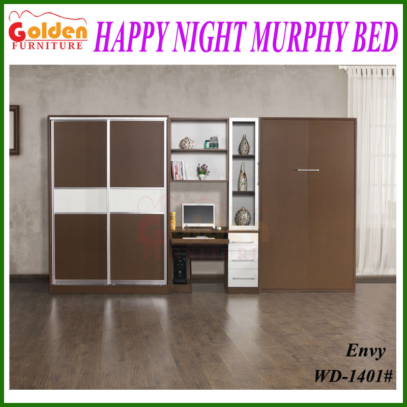 Wall mounted bed wall bed murphy bed 2015 new models for sale
