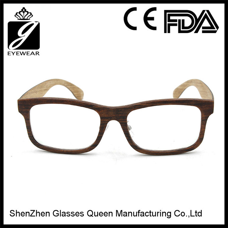 2016 Italy design personal optics reading glasses wood spectacle from ShenZhen Glasses Queen
