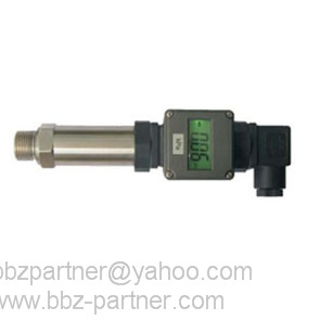 Smart BBZ low LCD display pressure transmitter against radio-frequency interference
