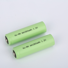Applied to cordless phones rapid charge performance AA1800 1.2v ni-mh aa battery pack
