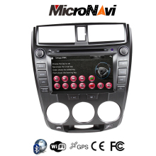 "8"" car audio multimedia stereo gps dvd mp3 player for Honda City"