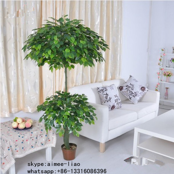 Q081707 Chinese manufacturer fake ficus bonsai tree ornamental artificial banyan bonsai tree