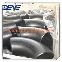 carbon steel pipe Fittings 90LR seamless ELBOW in good package