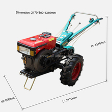German Manual Multifunction Mini Ridger Cheap Tractor Agriculture