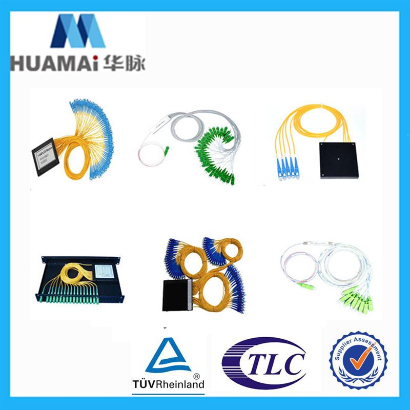 quality guaranteed bare blockless modular type plc 1 16 fiber optic splitter
