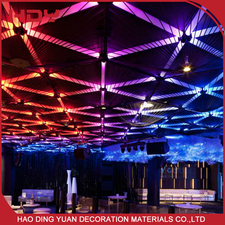 Heat Insulation Aluminum Indoor False Ceiling Materials