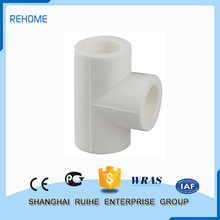China manufacturers Serviceable plastic long 45 degree pipe fitting lateral tee
