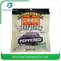 Trade Assurance Factory Food Package Beef Jerky Packaging Bags