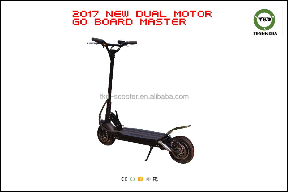 Best 2017 Chinese 52v 60v 1600w 2 Wheels Electric Scooter,dual motors