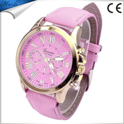 Hot Sale Quartz Watch Geneva Men Casual Ladies Watch Fahion Women Watches Roman Numerals Girls Dress Wristwatch GW072