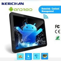 Tablet pc 15 inch LCD Touch Screen WIFI 3G Supermarket Shelf Edge LCD Frame