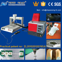 desktop glue dispensing robot hot melt glue dispenser TH-2004D-300ML