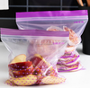 zip lock bag clear plastic fresh food bag for food freshness protection