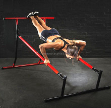 Home Gym Pull Ups Free Standing Push Up Rack Dips Bar Hand Stand Portable Gymnastic Fitness Horizon Bar