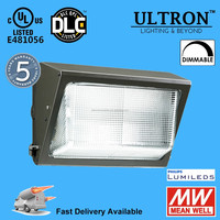 Hot selling US markets DLC and UL listed led wall pack light 5 years warranty