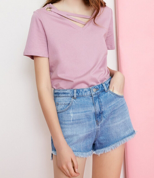 Summer 2019 Women Wholesale Top New Fashion Tshirt Blouse Lady