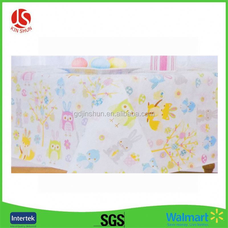 Textile Product Type home linen bed 100% Printed Bedsheet dinner Easter table runner