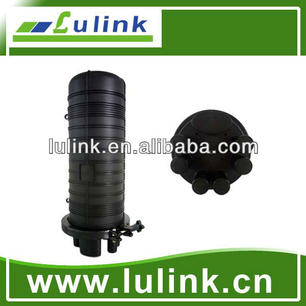 Waterproof Dome 1 entry/6 exit FTTH Fiber Optical Splice Closure