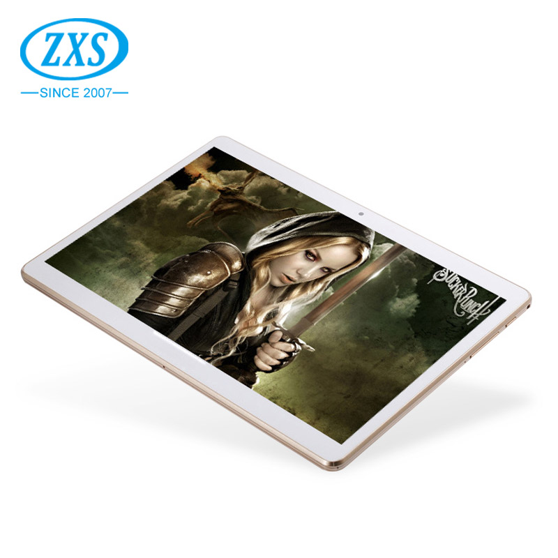 ZXS-102 2017 Hot 5000mAh 10 inch 3G Quad Core Android Tablet Pc