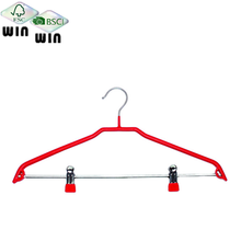 Pvc coating metal clothes hangers Drying rack