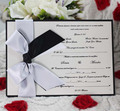 2014 Royal Silk Invitation Cards for Christening