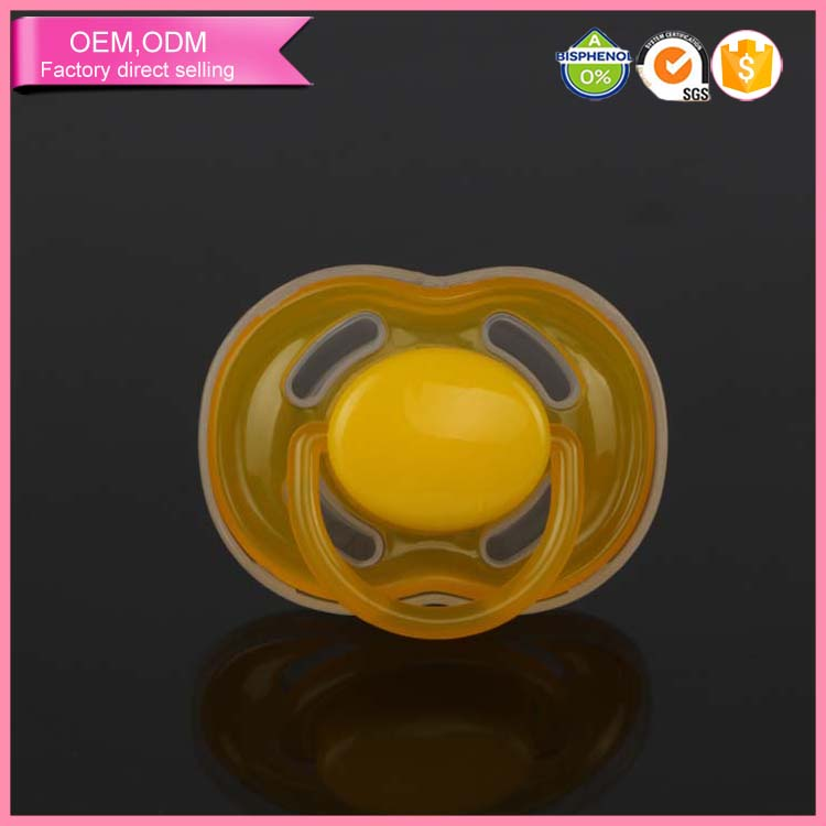 Hot selling100% food grade silicone baby animal pacifiier
