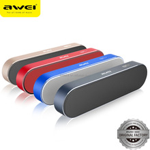 2017awei branded Mini portable speaker with bluetooth promotion