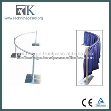 Aluminum pipe and drape,telescopic Drape stands Supports Crossbars