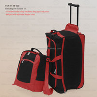 Trolley Bag and Backpack Set
